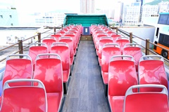 Hong Kong Open-top Bus Tour - Rickshaw Sightseeing Bus